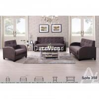 1+2+3 Seater Fabric Cushion Sofa/Lounge Sofa/Hall Sofa/Home Sofa/Relax Chair/350 (Grey Colour) Pre Order 2 Week