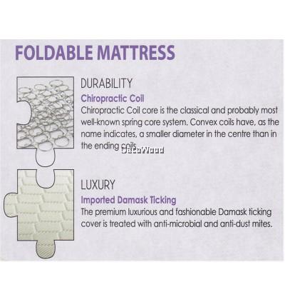 King Koil 100Plus 6 inch Chiropractic Coil Mattress Single