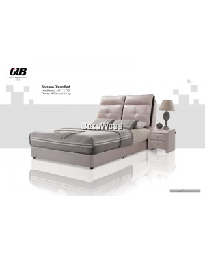 BOLZANO Divan Bed Frame Swiss Foundation Bedframe