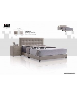 CHELSEA S Divan Bed Frame Swiss Foundation Bedframe