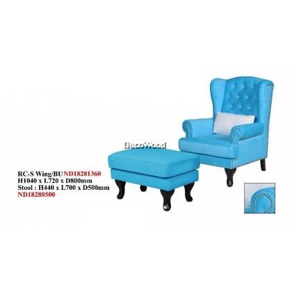 Leo Thames Wing Chair / Sofa / Arm Chair Full Fabric