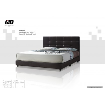 CHOCO Divan Bed Frame Swiss Foundation Bedframe
