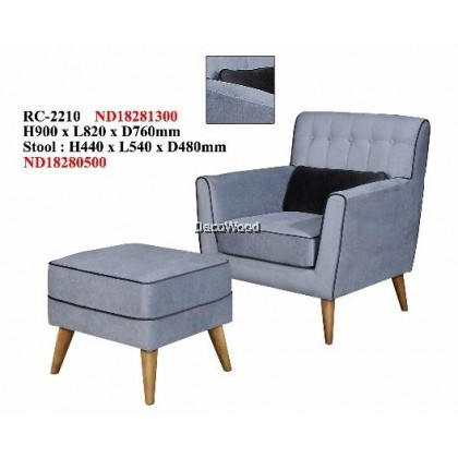 Beckett Thomas Wing Chair / Sofa / Arm Chair Full Fabric