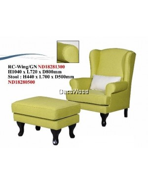 Alexander Frost Wing Chair / Sofa / Arm Chair Full Fabric