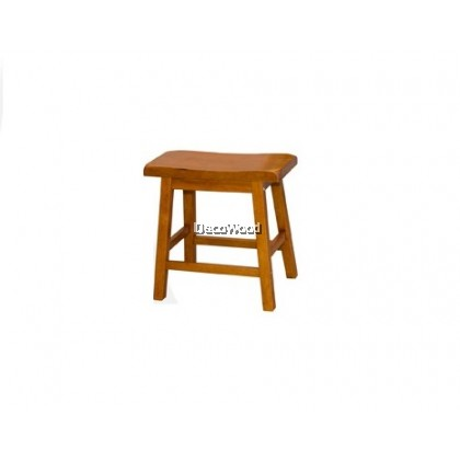 Mahogany Solid Wood Stool / Dining Chair / Dining Stool / Wood Chair / Multi- Purpose Stool / 100% Wood Stool L450MM X W230MM X H450MM