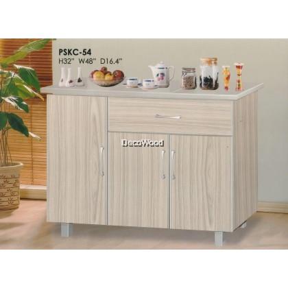 4-Feet Ready-Fixed Kitchen Cabinet Gas Cabinet Cooking Cabinet Cooking Rack Kitchen Rack With Mosaic L1200MM X W400MM X H800MM