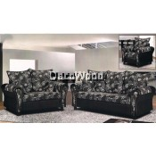 Alizeh Keshvar Fully Fabric 2+3 Seater Sofa Lounge Chair Relax Sofa Floral Design Flowers