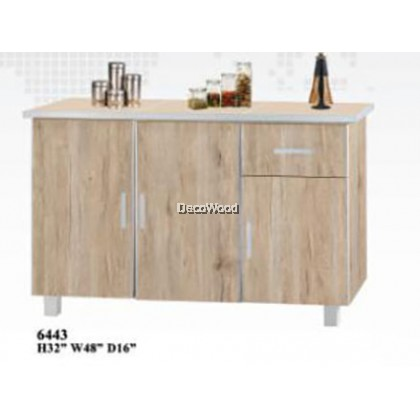 4 Feet Kitchen Cabinet With Mosaic Top / Kitchen Storage Cabinet / Microwave Oven Cabinet L1200MM X W400MM X H800MM