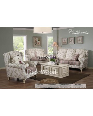 California English Style British Design English Design England Style Sofa Set 1+2+3 Seater Fully Fabric Sofa Lounge Chair Relax Sofa Fabric Sofa Series Sofa Stool Couch Bed Furniture Living Room Sofa