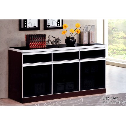 KITCHEN CABINET WITH MOSAIC TOP / KITCHEN STORAGE CABINET / MICROWAVE OVEN CABINET L1800MM X H800MM X W500MM