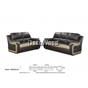 Emerson Jay Recliner Sofa 2+3 Seater Leather Sofa