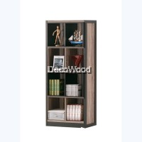Multi-Compartment Book Shelf / Multi-Purpose Cabinet / File Cabinet / Storage Cabinet / Filing Cabinet  / Office Cabinet / Office Rack / Office System Cabinet H1786 W775 D395MM