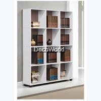 Multi-Compartment Book Shelf / Multi-Purpose Cabinet / File Cabinet / Storage Cabinet / Filing Cabinet  / Office Cabinet / Office Rack / Office System Cabinet H1745 W1202 D300MM