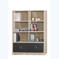 Multi-Compartment Book Shelf / Multi-Purpose Cabinet / File Cabinet / Storage Cabinet / Filing Cabinet  / Office Cabinet / Office Rack / Office System Cabinet  H1800 W1200 D358MM