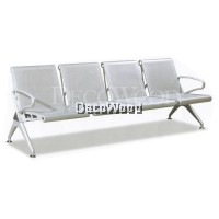 Ensley Jolie Waiting Area 4-Seater Link Cushion Chair/Hall Chair/Clinic Chair/Office Chair/ Waiting Area Chair/Smoking Area Chair/Bench/Waiting Bench L2320MM X D680MM X H770MM