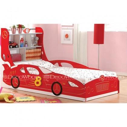 Cartoon Wood Solid Wood Bed / Children Bedroom / Homestay Bed / Master Bedroom Bed / Katil  Kayu