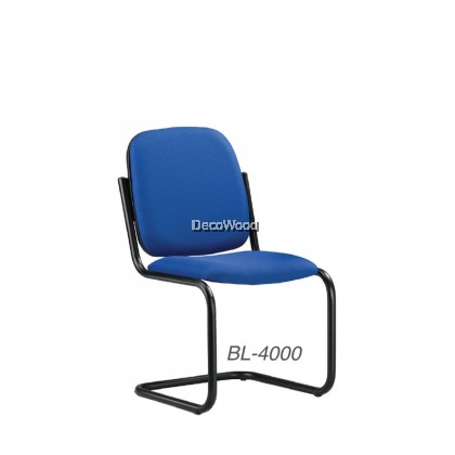 Office Chairs without Armrest / Non-Swivel Visitor Chair / Conference Chair / Meeting Room Chair W530MM X D600MM X H865MM