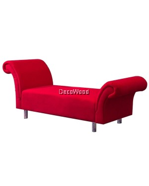 Cindy Fabric Ottoman Sofa Bed Sofabed Stool Chair L1850MM X W/D600MM X H800MM