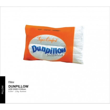 Dunpillow Premium Cotton Pillow Sleep Pillow Nap Pillow Mums Pillow