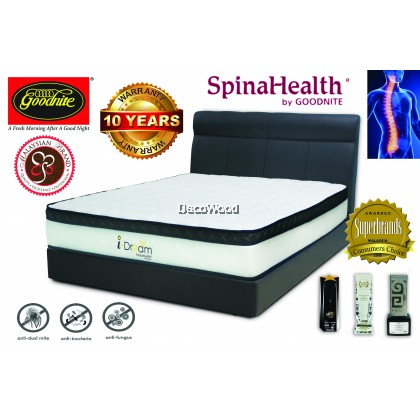 *FREE SHIPPING* Goodnite I-Dream 10.5 inch Posture Spring Mattress - Queen Size &10 Year Warranty