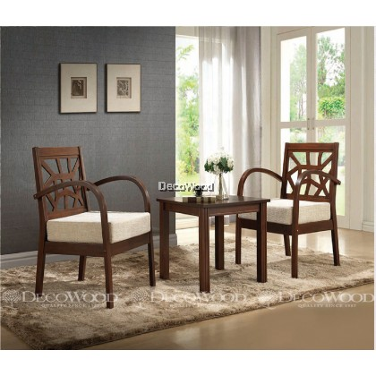 1 + 2 Dining Set / Meja Kerusi Santai / Tea Dining Set / Dining Room Set