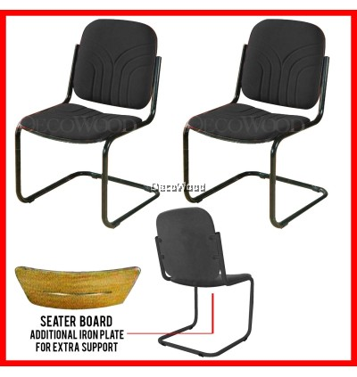 3V Office Chair With Backrest Prosperity Chair Dining Chair Plastic Chair Outdoor Bench Chair Outdoor Chair Patio Chair Patio Bench Smoking Area Chair Resting Area Chair Staff Room Bench Waiting Chair Waiting Bench Lounge Chair Home Chair
