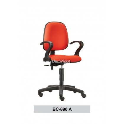 Typist Chair / Basic Seating / Office Chair / Study Chair W690MM X D650MM X H940MM-1060MM