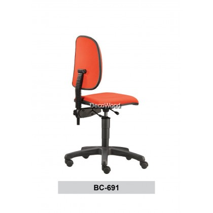Typist Chair without Armrest / Basic Seating / Office Chair / Study Chair W690MM X D650MM X H940MM-1060MM