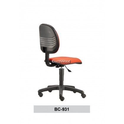 Typist Chair without Armrest / Basic Seating / Office Chair / Study Chair W690MM X D675MM X H910MM-1030MM