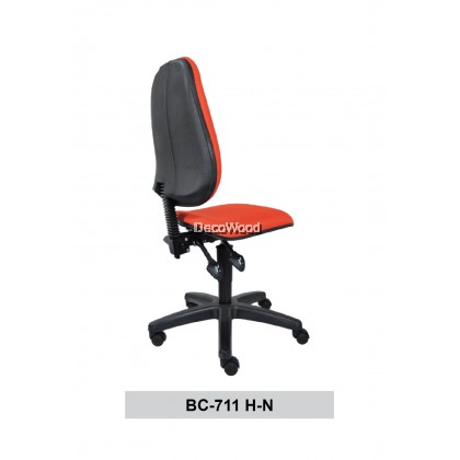 Typist Chair without Armrest / Basic Seating / Office Chair / Study Chair W690MM X D675MM X H930MM-1050MM
