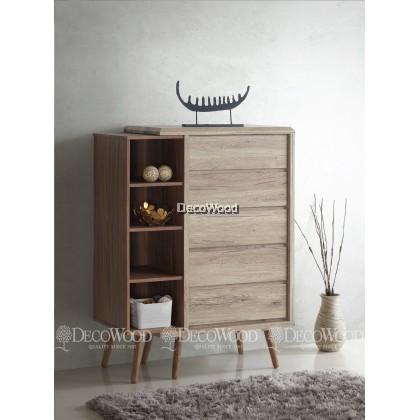 Drawer Chest / Clothing Cabinet / Dresser / Cabinet Baju / Almari Baju