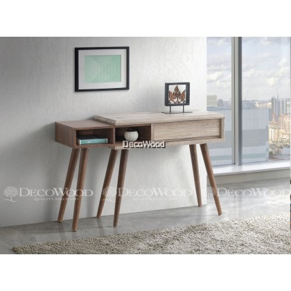 Solid Wood Console Table / Side Table / Hall Table / Wall Table L1200mm X W400mm X H760mm