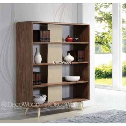 Divider / Hall Cabinet / Display Cabinet / Book Cabinet / File Cabinet ( L1200 X W400 X H1910 MM )