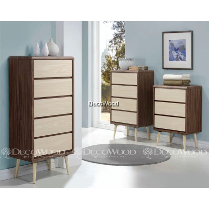 Drawer Chest / Clothing Cabinet / Dresser / Cabinet Baju / Almari Baju-B