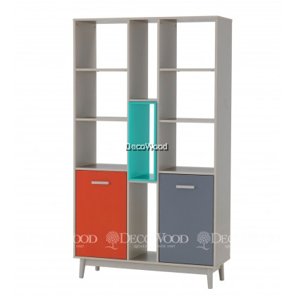 Divider / Hall Cabinet / Display Cabinet / Book Cabinet / File Cabinet ( L1020 X W400 X H1800 MM )