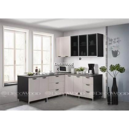 Kitchen Cabinet / Kitchen Rack / Kitchen Storage With Mosaic Top