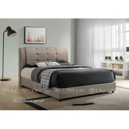 """Solid Wood Strong King & Queen Size Wooden Bed Frame With Headboard Storage  H43"""" X D9"""""""