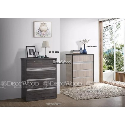 Drawer Chest / Clothing Cabinet / Dresser / Cabinet Baju / Almari Baju