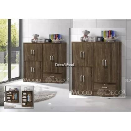 """Children Cabinet / Children Wardrobe / Almari Baju H48"""" L47"""" W16"""""""