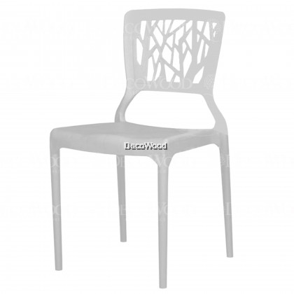 Set of 5: High Quality Stackable Dining Chair Plastic Chair Outdoor Bench Chair Outdoor Chair Patio Chair Patio Bench Smoking Area Bench Bench Chair Resting Area Chair Staff Room Bench Waiting Chair Waiting Bench