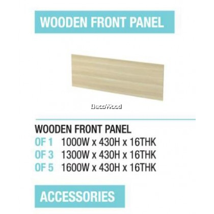 Wooden Front Panel / Cabinet Surface Panel / Top Connection / Side Connection / Table / Computer / Accessories