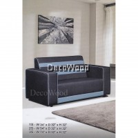 2 Seater Sofa Fully Water-Resistant Fabric Sofa L1370MM X W810MM X H810MM