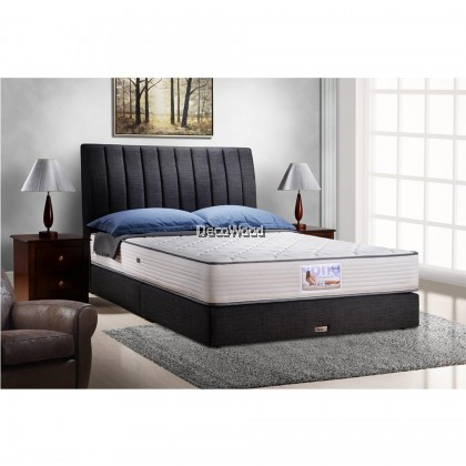"*2019 New Model* Vono Orthopaedic Pro Mattress (15 Years Warranty by Vono ), High Quality Latex & Coconut Fiber, Size: 10¼"" Top to bottom"
