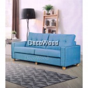 3 Seater Sofa Fully Fabric Sofa Lounge Chair Relax Sofa - Water Proof Fabric L2030MM X W865MM X H940MM