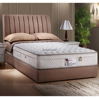 *2019 New Arrival* Vono Back Relaxer ll - Swiss Foundation Divan BEDFRAME ONLY ( 2 Years Warranty By Vono)