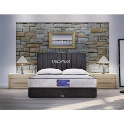 """*2019 New Model* Vono Ortho Shield Mattress (15 Years Warranty), Intalok Spring 800, Exclusive SilverGuard™ Treated Fabric, Size: 10"""" Top to Bottom"""
