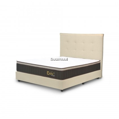 *2019 NEW ARRIVAL* Goodnite By SpinaHealth Delta Pocketed Spring Mattress Euro-Top 10 Inch Single/Super Single/Queen/King Size - 12 Years Warranty