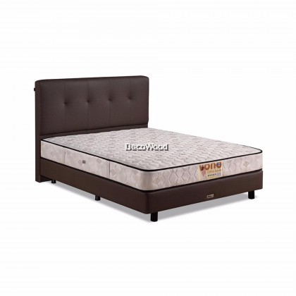"*2019 Model* Vono Ortho Saver Mattress (15 Years Warranty), Intalok Spring System with Coconut Fibre, Size: 9½"" Top to Bottom"