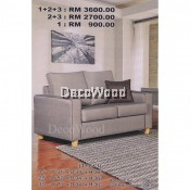 2 Seater Sofa Fully Water-Resistant Fabric Sofa L1490MM X W860MM X H930MM