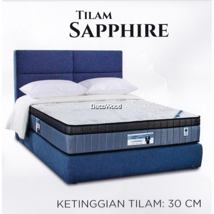 King Koil Prince Collection SAPPHIRE 12 Inches Chiropractic Coil Spring Mattress Tilam With 15 Years Warranty Fattah Amin Duta King Koil